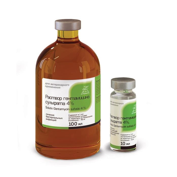 применению по раствора инструкция сульфата гентамицина для собак 4%
